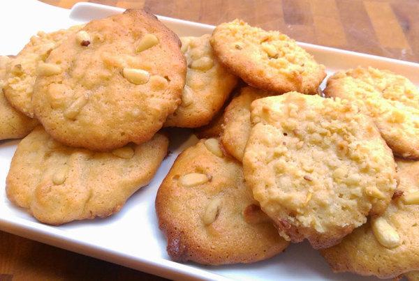 biscotti con pignoli recipe