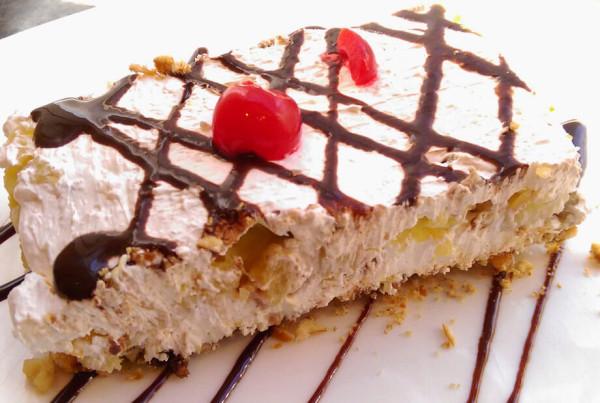 lenas banana slit cake