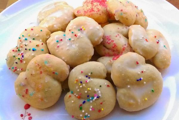 sicilian vanilla cookie recipe
