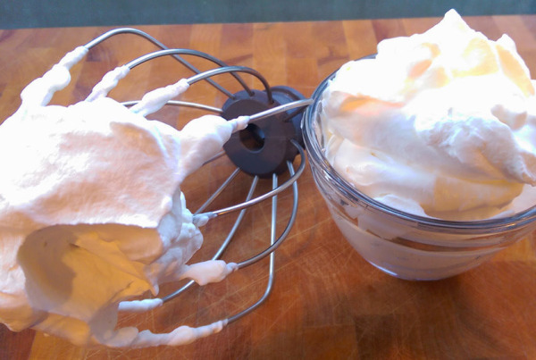 whipped cream recipe