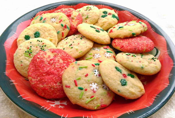 christmas ricotta cookie