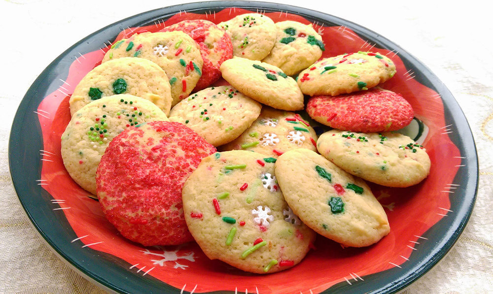 christmas ricotta cookie
