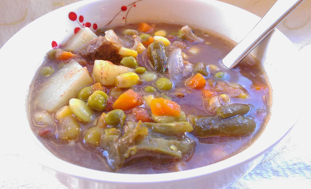 crock-pot vegetable soup