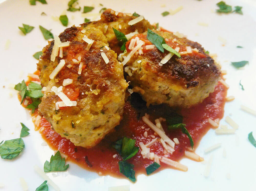 gluten-free meatball