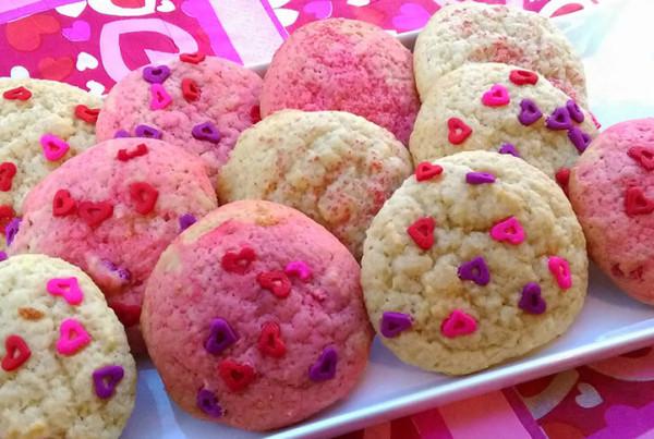 valentine ricotta cookie