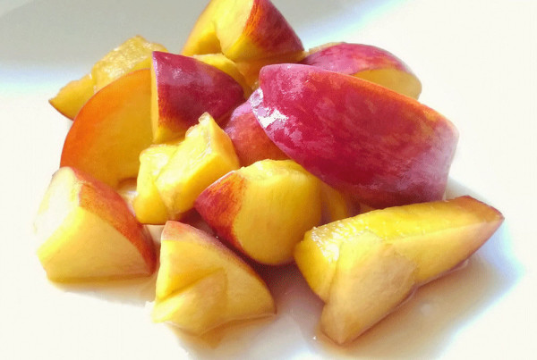 peaches in marsala wine