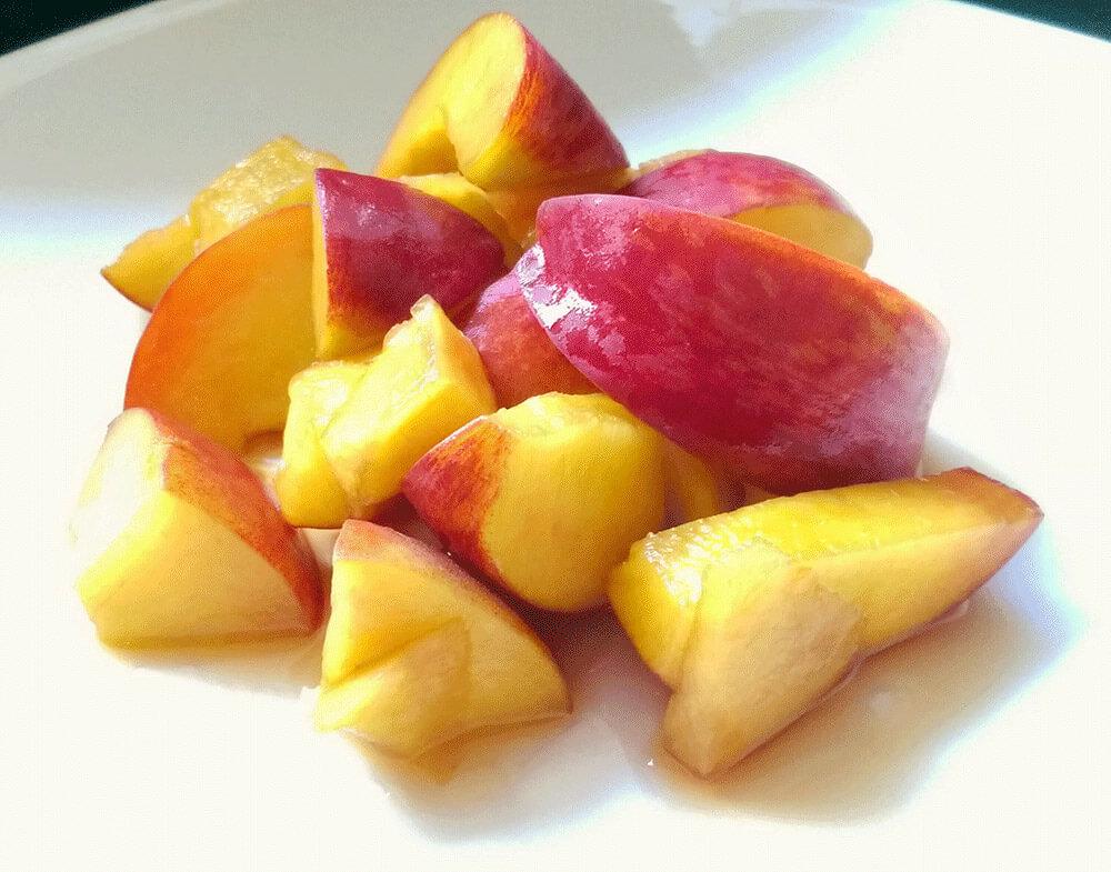 peaches in marsala wine